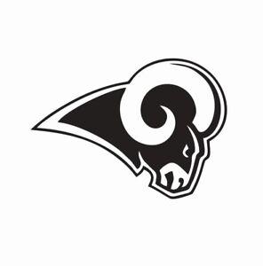 NFL LOS ANGELES RAMS EMBLEM STICKER DECAL FOR CARS LA RAMS