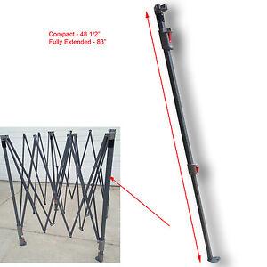 Coleman 10 X 10 Canopy Gazebo Extended Adjustable Leg W