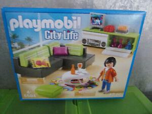 Playmobil-City-Life-5584-Modernes-Wohnzimmer-Neu-amp-OVP