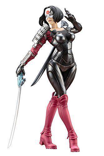 DC Comics Bishoujo DC Universo Katana 1 7 Pvc Figura KOTOBUKIYA Nuevo de Japón