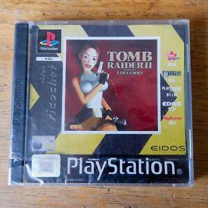 Tomb-Raider-II-2-Playstation-1-ps1-NEU-amp-VERSIEGELT-NEAR-MINT-RARE