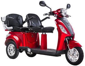 Elektromobil Zweisitzer E Mobil Seniorenfahrzeug E