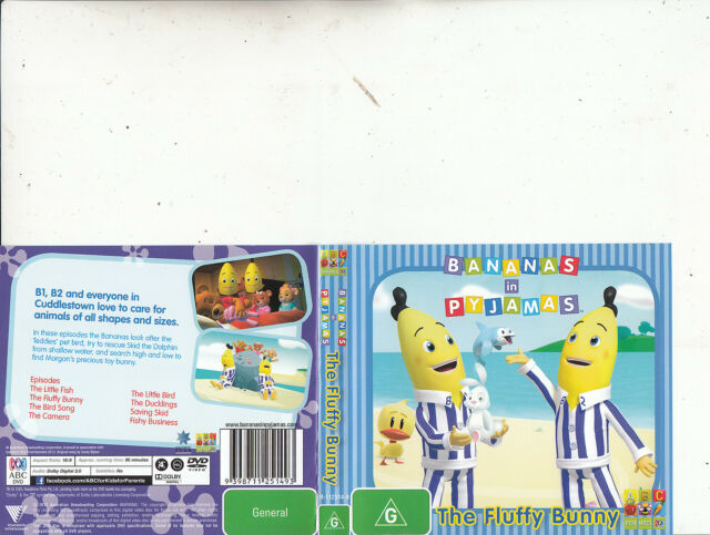 Bananas In Pyjamas-The Fluffy Bunny-2012-[8 Episodes]-Animated BIP-DVD