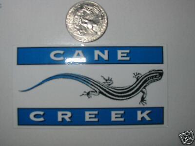 CANE CREEK SHOCK BIKE MOUNTAIN ROAD STICKER DECAL MED
