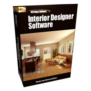 3d Home And Office Interior Design Designer Planning Software Cad Program Cd Rom Ebay