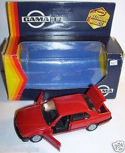 RARO-GAMA-MADE-IN-GERMANY-BMW-735-I-ROJO-REF-1107-1-43-EN-BOX