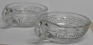Heisey-Two-Greek-Key-Handled-Jelly-Dishes