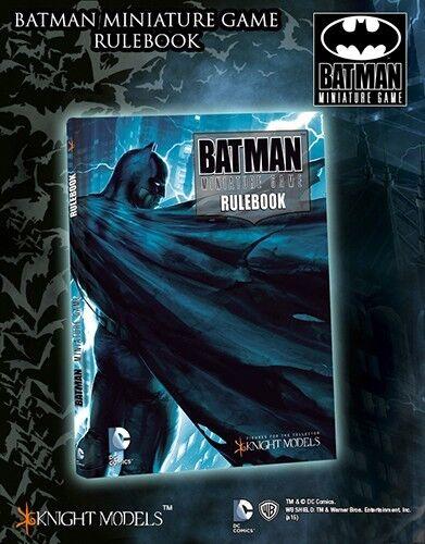 Knight Models - BMG Batman cover rulebook (English) - Batman Skirmish Tabletop