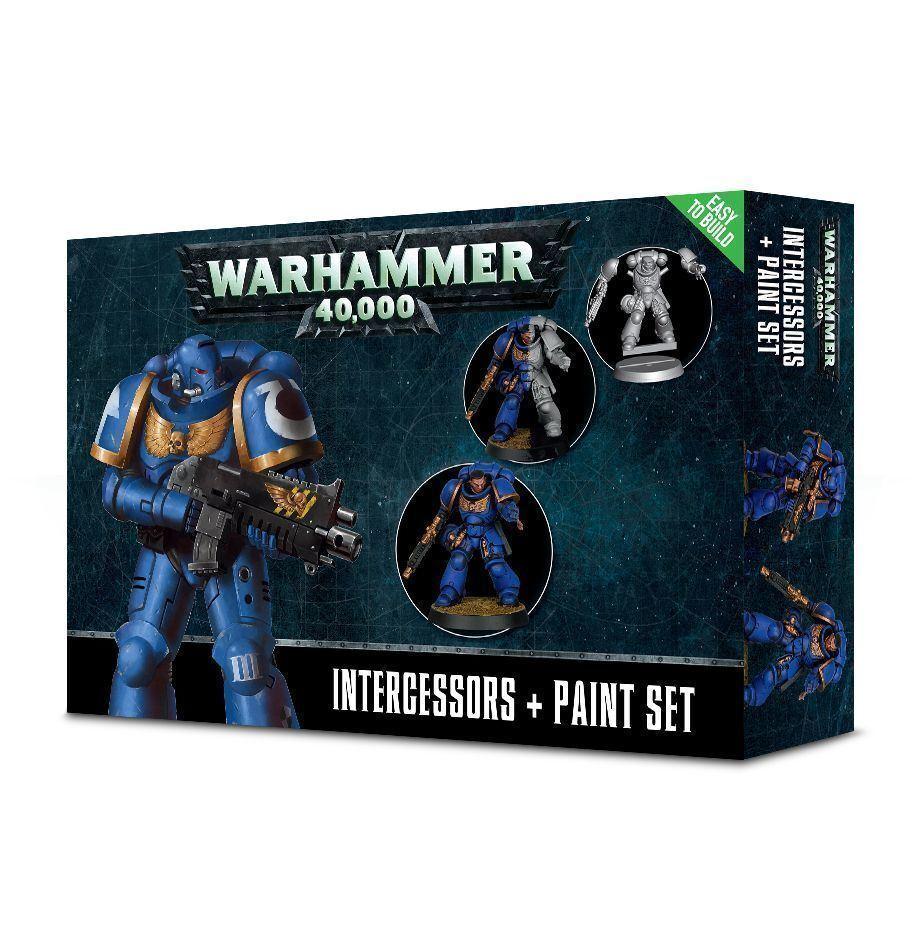 Warhammer Intercessors & Paint Set GW60-11-60