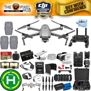DJI-Mavic-2-Zoom-3-Battery-PRO-Accessory-Bundle-with-Aluminum-Case-MUCH-MORE