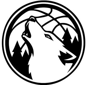 Minnesota Timberwolves NBA Decal Sticker Car Truck Window Bumper Laptop