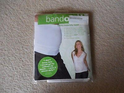 Fertile Mente, Bianco Ventre Banda Bando, Lusso Maternity Band, Taglia S-m, Uk 6-10,-mostra Il Titolo Originale