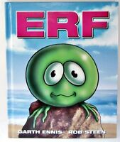 Erf Book By Garth Ennis & Rob Steen (2012, Hardcover) Signed Story Of Earth