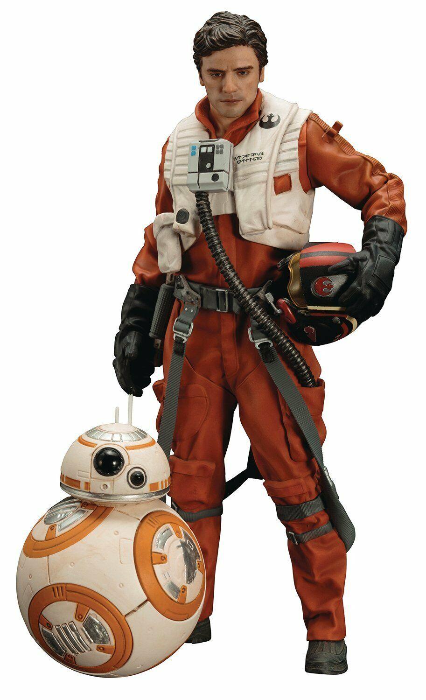 STAR Wars POE dameron & BB-8 pre-verniciato ARTFX + Model Kit (KOTOBUKIYA)