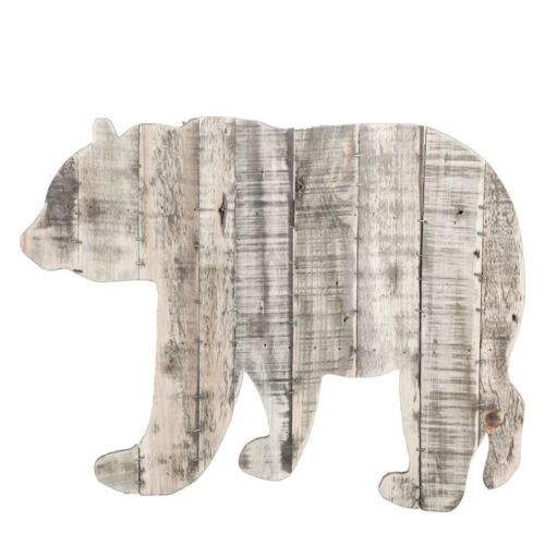 Wildlife Bear Wood Pallet Rustic Wall Decor Cabin Lodge Country Wall Hanging