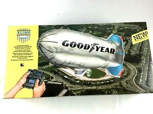 GoodYear-Blimp-Vintage-Radio-Control-RC-Wired-toy-with-original-box-and-manual