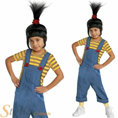 Girls Despicable Me Agnes Minion Fancy Dress Costume SMALL
