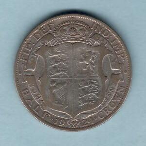 Great-Britain-1924-Halfcrown-F-F