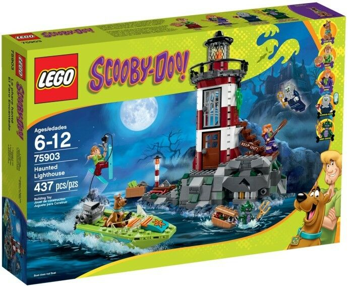 LEGO Scooby -Doo - 75903 Spukender Leuchturm   Haunted ljushouse - Neu & OVP