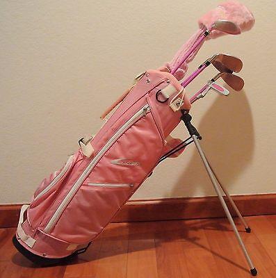 Brand New Ciscobay Golf Pink Girls Kids Golf Clubs Junior Set 5 8 Years Old Rh Ebay