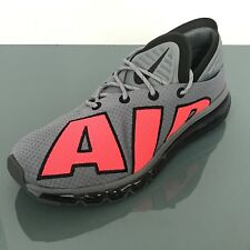 Nike Air Max Flair NSW Cool Grey Solar Red Men Running Shoes
