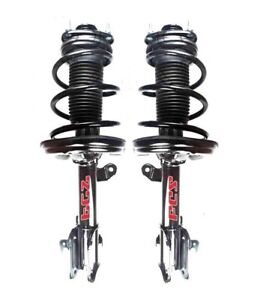 Pair Set of 2 Front FCS Suspension Strut and Coil Spring Kit For Honda Odyssey
