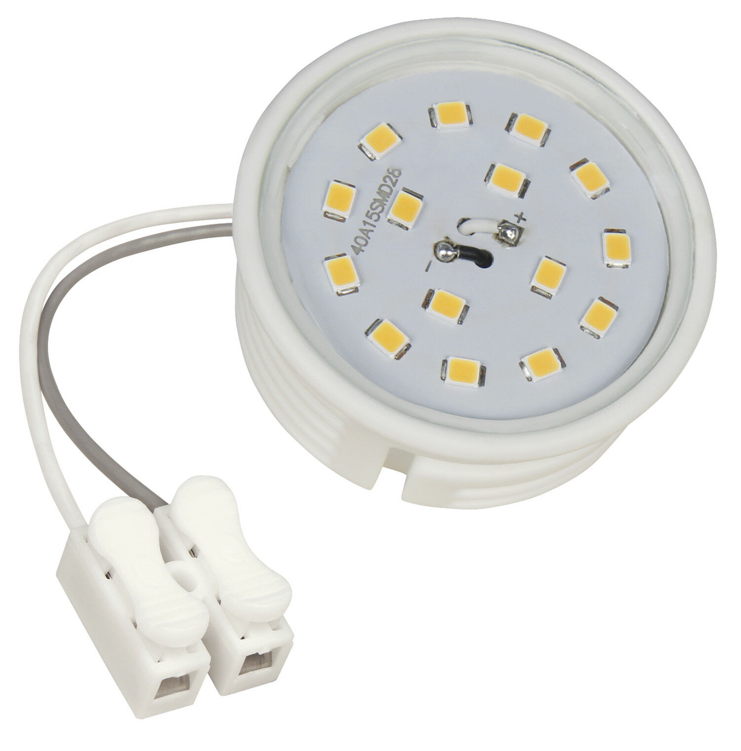 LED-Module, 5Watt, dimmbar, 400 Lumen, 220V, Einbautiefe nur 20mm, Gu10 Ersatz