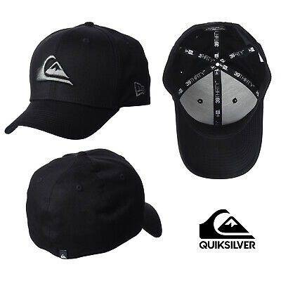 Quiksilver Mens Mountain and Wave Black Hat