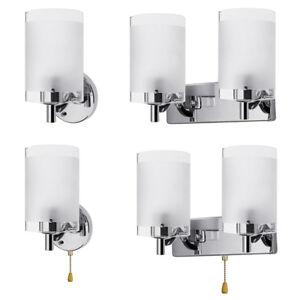 e14 modern glass wall sconce led light lamp lighting fixture indoor
