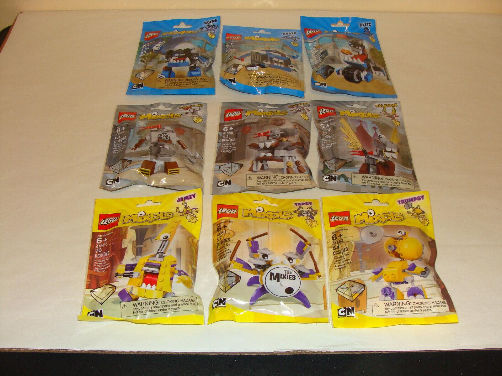 esclusivo LEGO MIXELS SERIES 7 KUFFS autobusTO CAMILLOT PALADUM TAPSY completare completare completare RETIrosso nuovo  le migliori marche vendono a buon mercato
