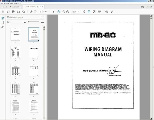 Mcdonnell Douglas Md80 Wiring Diagram Manual Ata Chapter