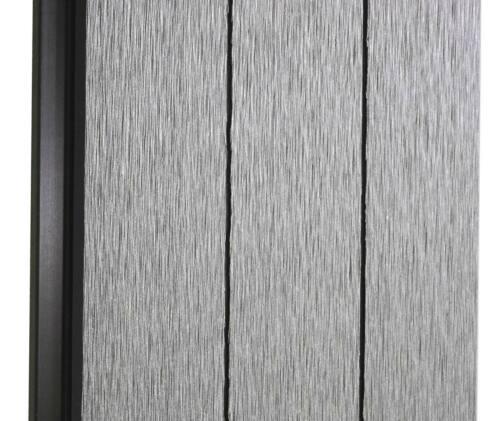 ALU-Poteaux 2er Set 3,75 m gris Demandeur-vue Protection Savoie vent barrière