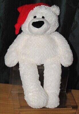 Gund Winter Wonderland Snoby 16 Pollici Bianco Natale Teddy Bear Peluche Giocattolo-mostra Il Titolo Originale Vendite Economiche 50%