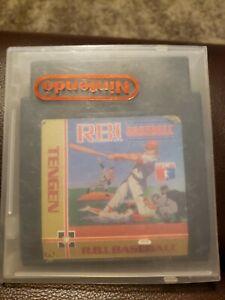 Tengen RBI Baseball (Nintendo NES) Tested Working W/ Protective Case!