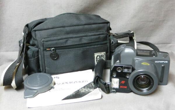 16-appareil Photo Argentique:olympus Az 300 Super Zoom 38/105 Mm -made In Japan