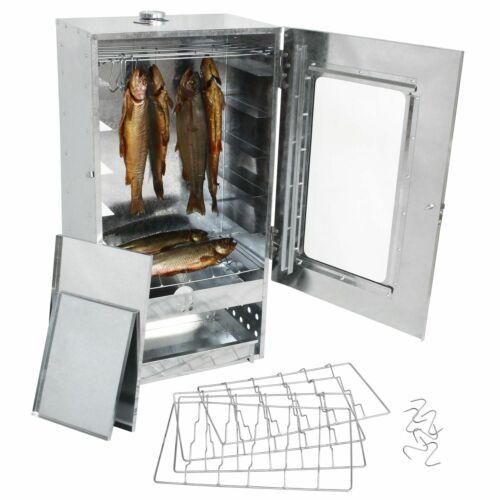 Räucherschrank Räucherofen mit Sichtscheibe 88x46x28,5cm Fisch Fleisch Räuchern