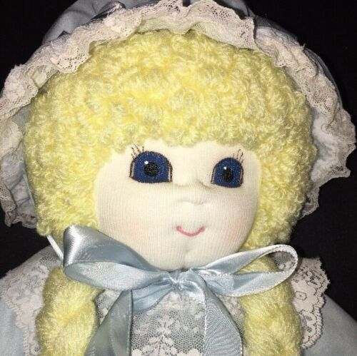 "HONEYSUCKLE DOLLS & BEARS 17"" Soft Sculptured Cabbage Patch STYLE Doll HANDMADE"