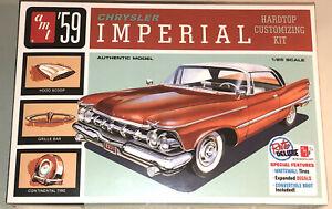 AMT-1959-Chrysler-Imperial-hardtop-customizing-kit-1-25-scale-model-kit-new-1136