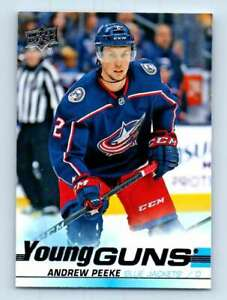 2019-20-Upper-Deck-Young-Guns-Andrew-Peeke-RC-452