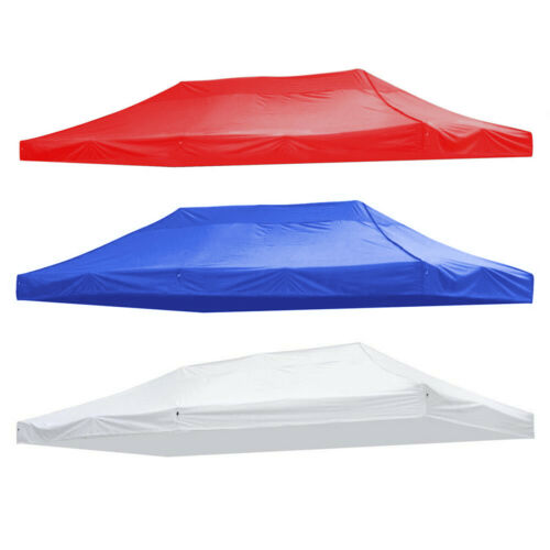 10x15ft EZ Up Canopy Top Replacement Tent Patio Gazebo Canopy 420D Sun Shade ~