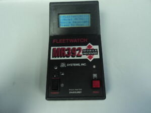 FLEETWATCH-MR392-MOBILE-RECEIVER-ELECTRONIC-TRIP-RECORDER