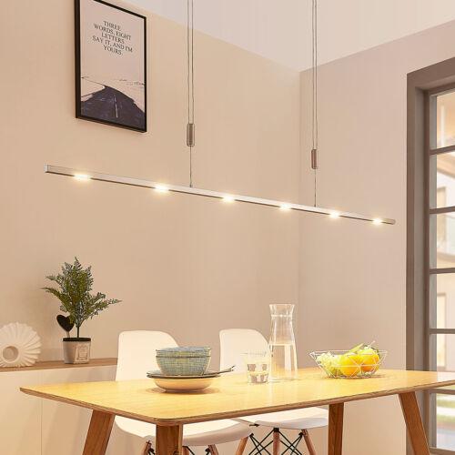 Esszimmer-Hängeleuchte Arnik LED Dimmbar Pendellampe Lampenwelt Modern Schmal