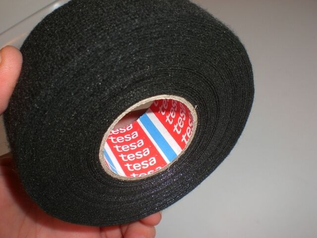 5 rolls tesa 51616 wire harness adhesive thick fleece electrical rh ebay com