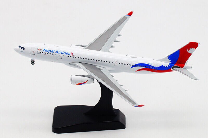 1 400 JC WINGS Nepal Airlines AIRBUS A330-200 Passenger Airplane Diecast Model
