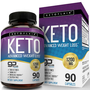 Best-Keto-Diet-Pills-1200mg-GoBHB-90-Capsules-Weight-Loss-Perfect-Fat-Burner