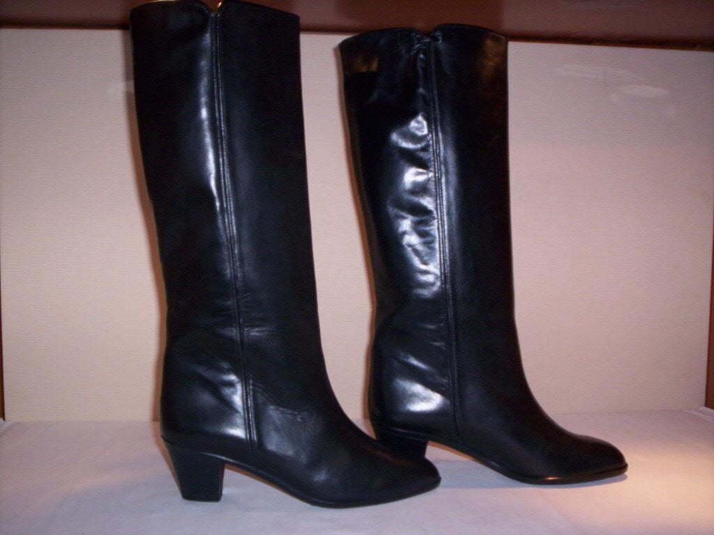 Bottes hautes genou Platone femme boots women women women talons peau cuir black 37 6efe13