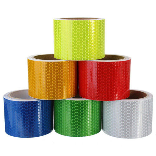 AB_ CO_ 3m X 50mm High Intensity Safety Reflective Tape Red