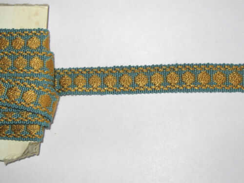 8 METRES DE GALON ANCIEN PASSEMENTERIE DE LYON-VINTAGE FRENCH TRIM-N°SEP25