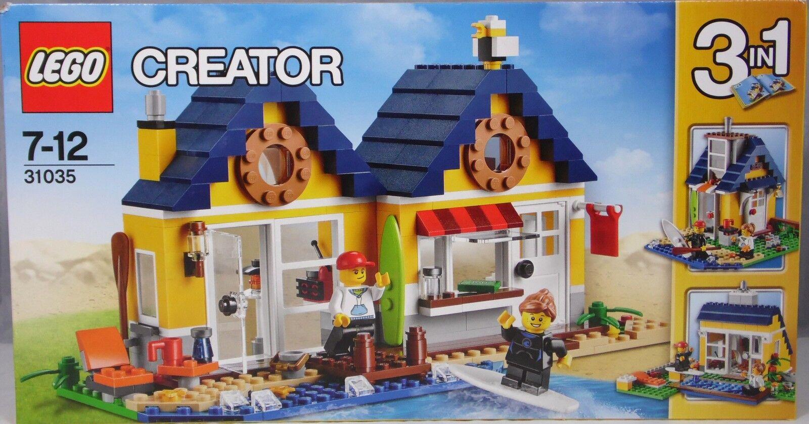 Lego Creator 31035 Strandhütte 3 in in in 1 Badehaus Ferienhaus mit 2 Figuren NEU bba395