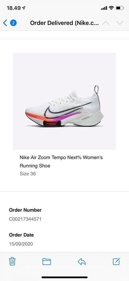 Løbesko, Løbesko, Nike Air Zoom